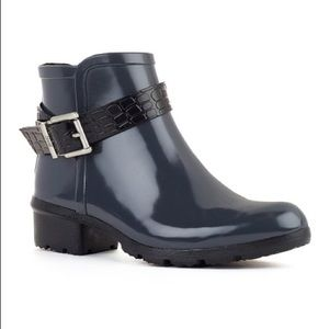 COUGAR SLATE GREY ANKLE RAIN BOOTS SIZE 9